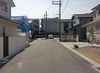 閑静な住宅地の中の分譲宅地