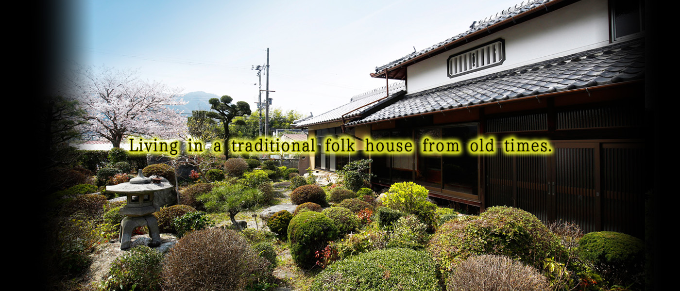 Living in a traditional folk house from old times