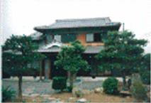 本格木造造りの家
