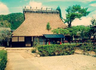 茅葺の古民家