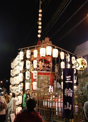 本町「三輪山鉾」